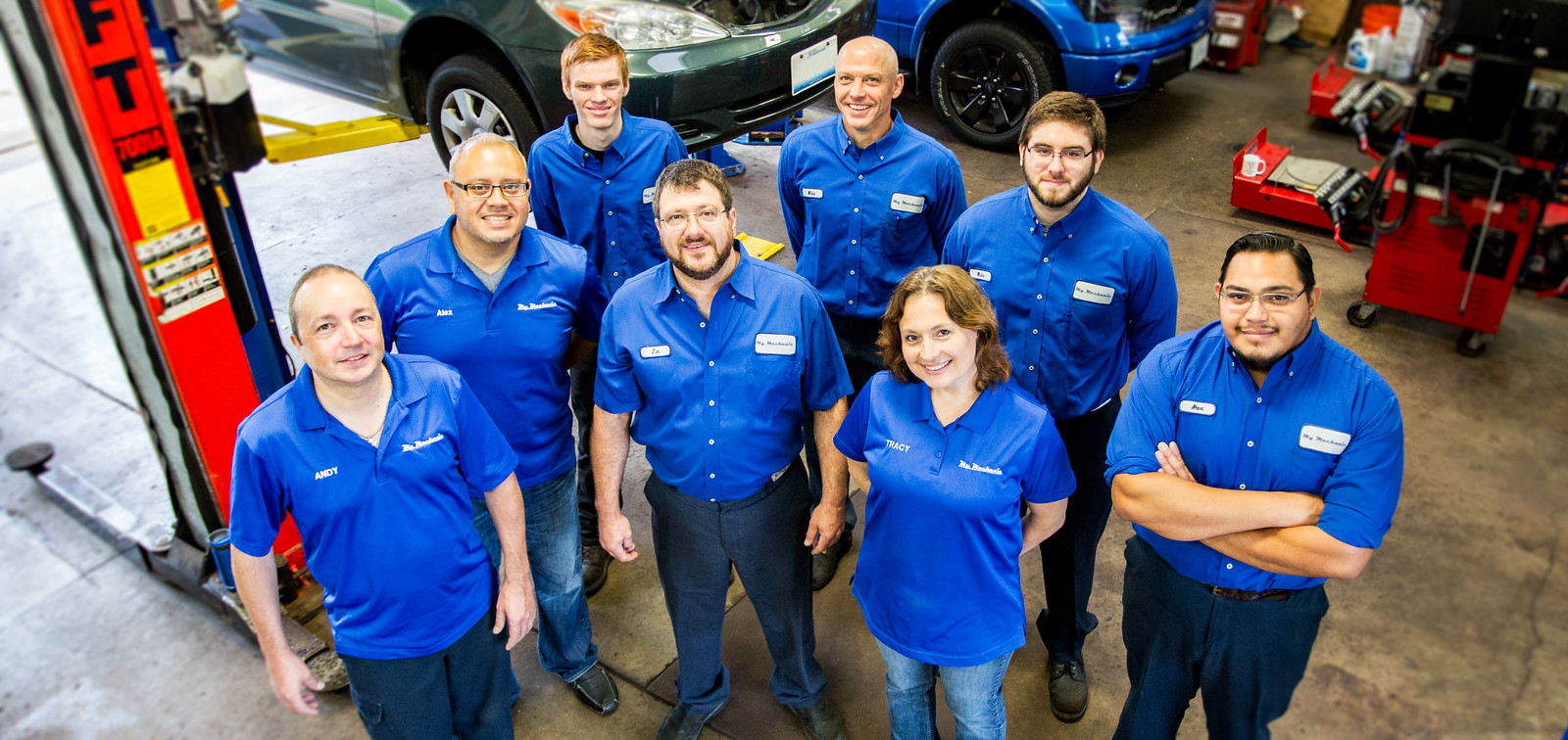 The auto service repair team at My Mechanic in Elmhurst, IL