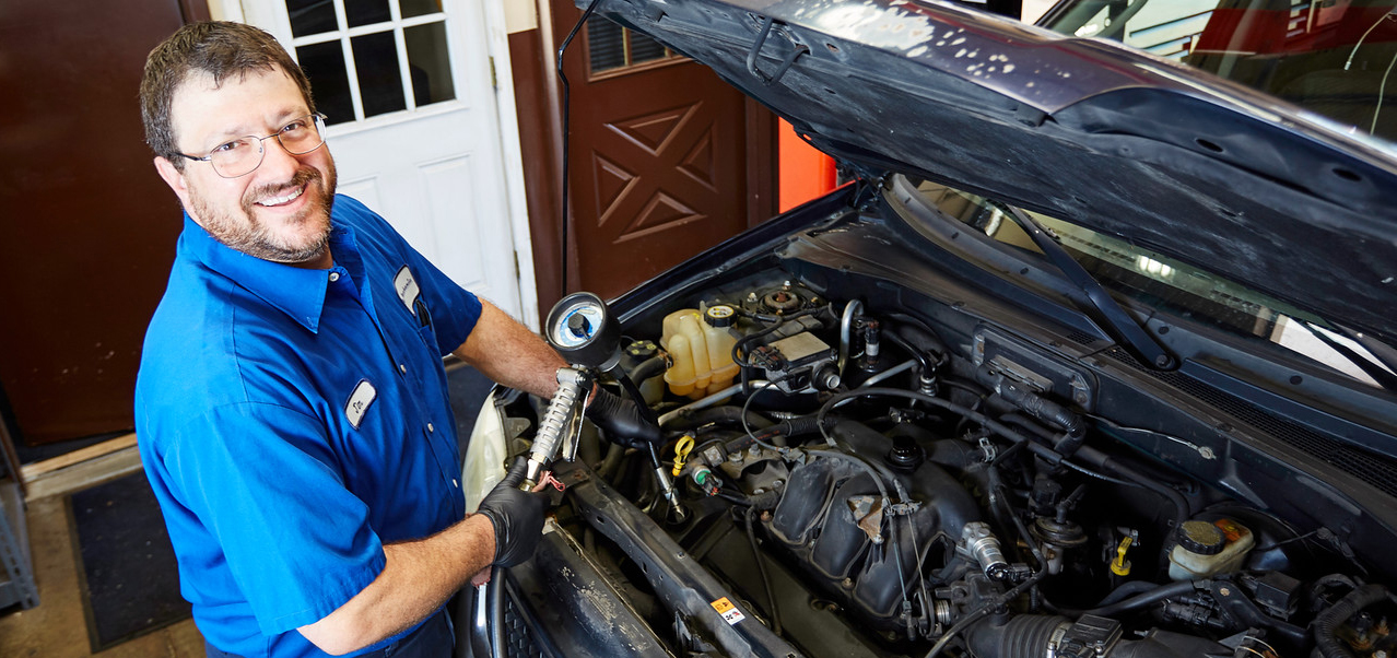 Automotive technician at My Mechanic in Elmhurst, Chicago, IL